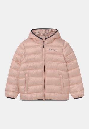 HOODED UNISEX - Chaqueta de invierno - pink