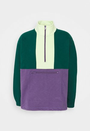NEW ZIP POP OVER UNISEX - Sweatshirt - multicolor