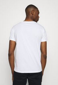 Replay - CREW TEE 3 PACK - T-shirt basic - black/grey melange/white - 3
