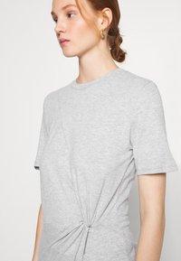 Ética - VERONICA - Jersey dress - heather grey - 4