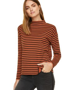 comma casual identity - Long sleeved top - cognac stripes - 4