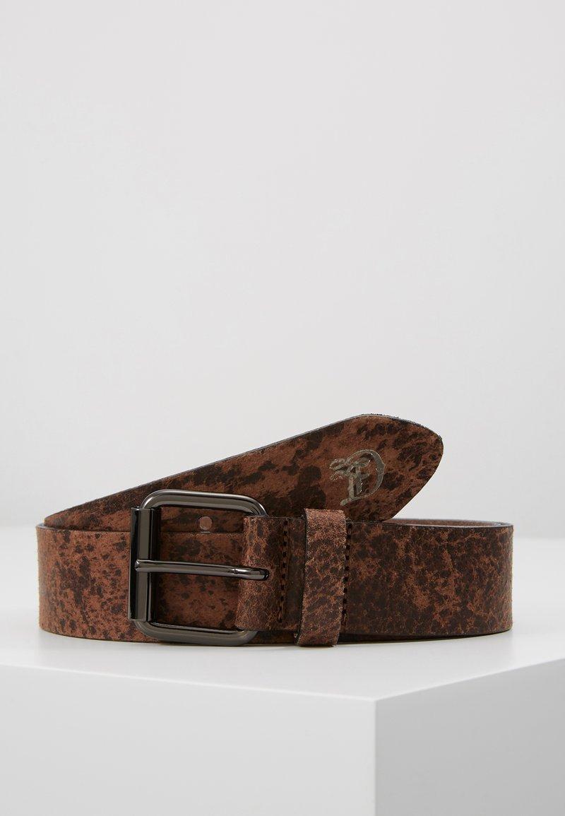 TOM TAILOR DENIM - Belt - dark brown