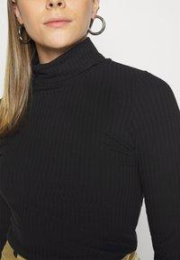 New Look - ROLL NECK - T-shirt à manches longues - black - 5