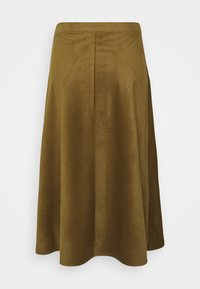 Soaked in Luxury - ILIA - Maxi skirt - military olive - 1