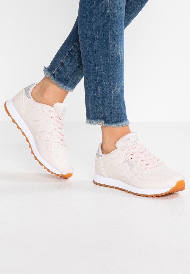 Sneakers basse - light pink/silver glitter