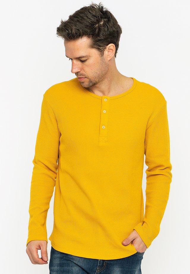 LONG SLEEVE - Longsleeve - mustard