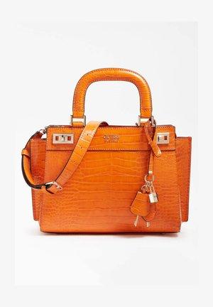 KATEY STAMPA COCCO - Across body bag - arancione