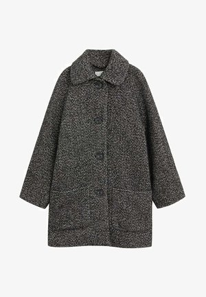 BELEN - Short coat - schwarz