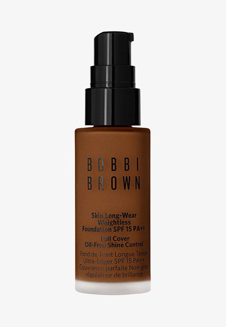 Bobbi Brown - MINI SKIN LONG-WEAR WEIGHTLESS FOUNDATION - Podkład - almond