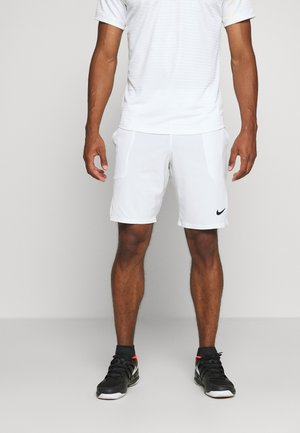 ACE SHORT - Sports shorts - white/black