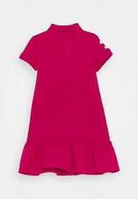 Polo Ralph Lauren - POLO DRESS - Denní šaty - accent pink - 1