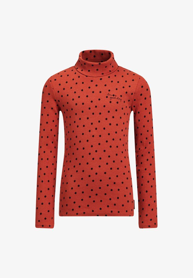 WE Fashion - ROLNEK - Long sleeved top - rust brown