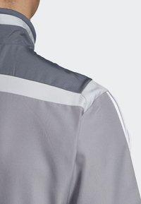 adidas Performance - TIRO 19 PRE-MATCH TRACKSUIT - Training jacket - grey/ white - 5
