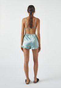 PULL&BEAR - MIT VOLANT - Pyjama bottoms - blue - 2