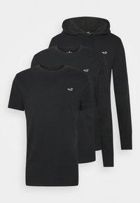 MIXED SILO SET - Basic T-shirt - black