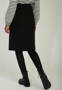 NAF NAF - Pencil skirt - black - 2