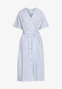 Leon & Harper - ROBUSTA STRIPES - Shirt dress - sky - 4