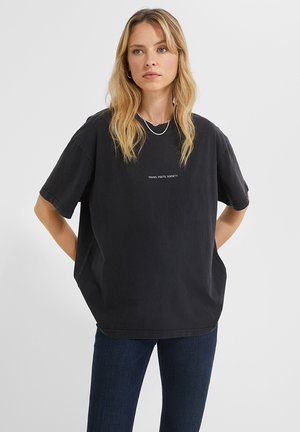 BE A POEM PRIA - Print T-shirt - vintage black
