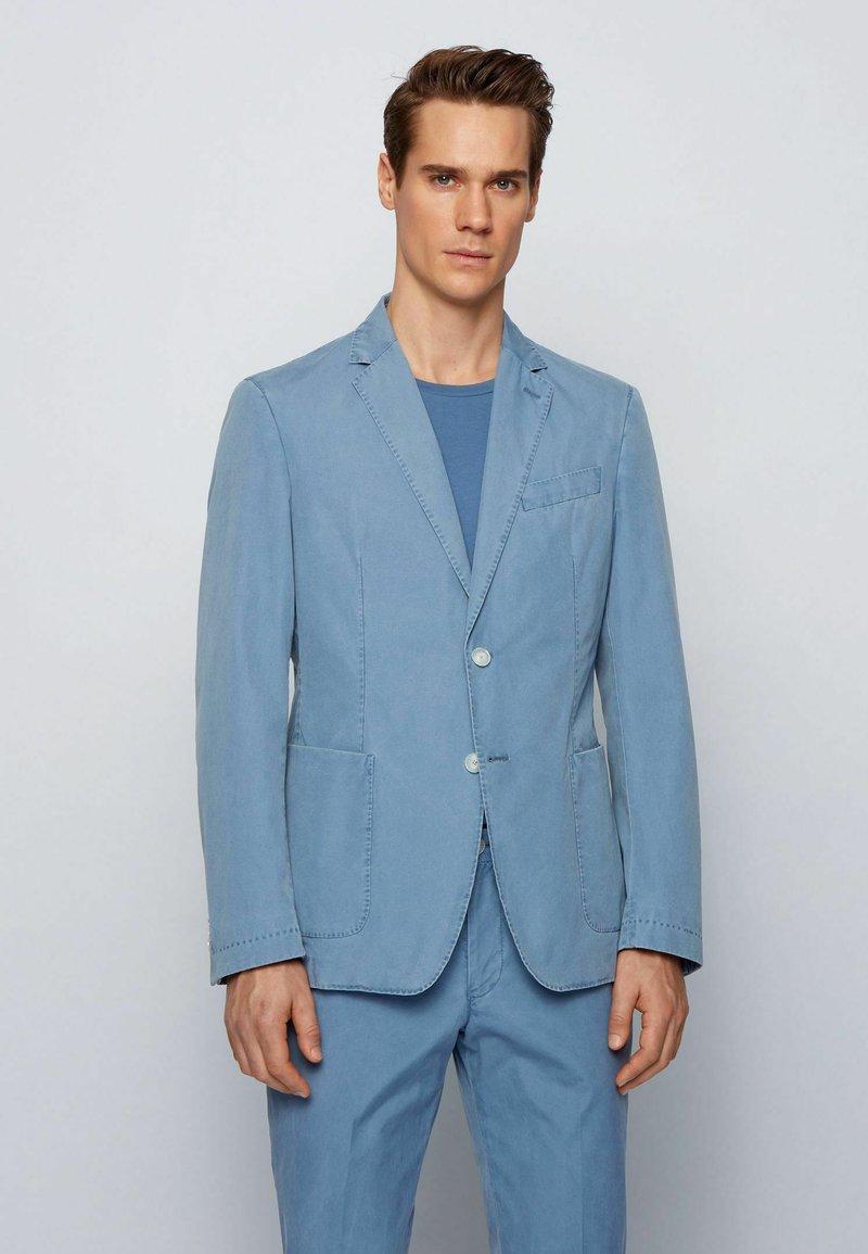 BOSS - HANRY - Denim jacket - blue