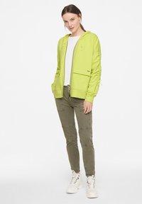 comma casual identity - Zip-up sweatshirt - lime - 1