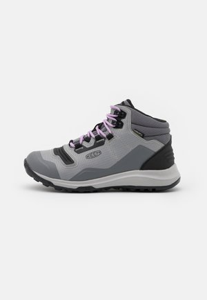 TEMPO FLEX MID WP - Outdoorschoenen - steel grey/african violet