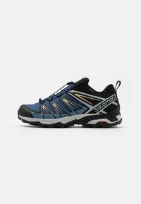 Salomon - X ULTRA 3 GTX - Hiking shoes - dark denim/copen blue/pale khaki - 0