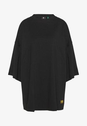 GLASY XXL LOOSE WMN - Camiseta básica - dk black
