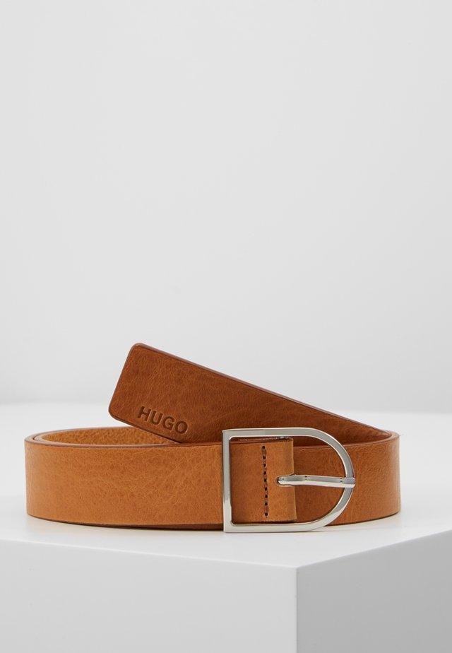ZOYA BELT  - Belt - rust/copper