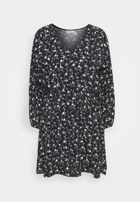 NAF NAF - COLINE - Robe d'été - noir - 0