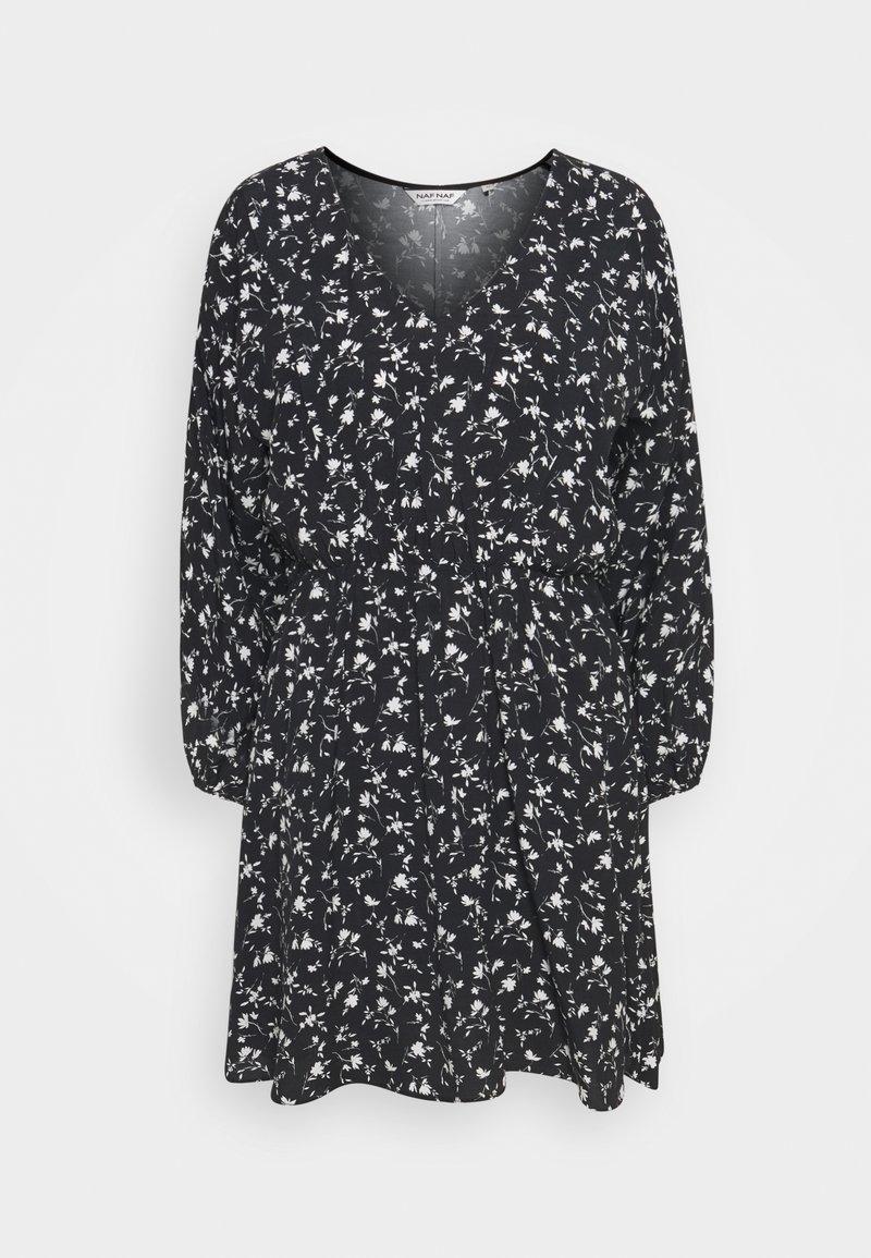 NAF NAF - COLINE - Robe d'été - noir