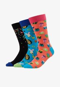Happy Socks - HAPPY BIRTHDAY GIFT BOX 3 PACK - Socks - multi-coloured - 1
