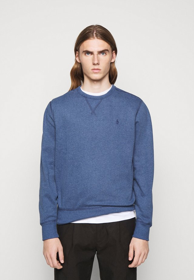Sweatshirt - derby blue heather