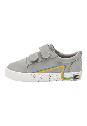 GREY ROCKET TOUCH FASTENING SHOES (YOUNGER) - Boty se suchým zipem - grey