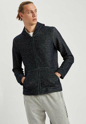 Zip-up hoodie - indigo