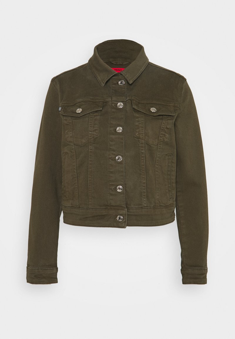HUGO - ALEX - Denim jacket - beige/khaki