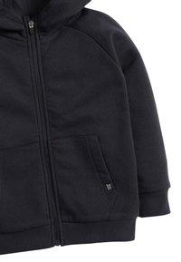 Next - BLACK ZIP THROUGH HOODY (3-16YRS) - Zip-up hoodie - blue - 2