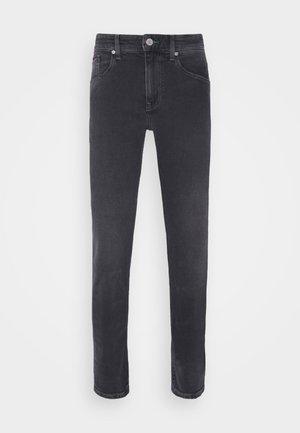 AUSTIN TAPERED - Slim fit jeans - denim black comfort