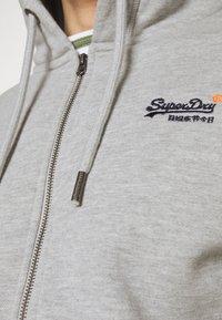Superdry - CLASSIC ZIPHOOD - Zip-up hoodie - grey marl - 5