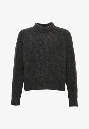 CULT STUDIOS SUPER LUX  - Jumper - lead grey marl