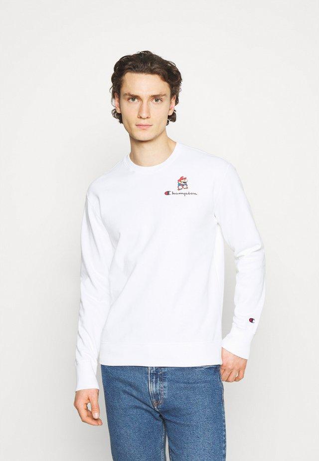 CREWNECK X NINTENDO - Sweater - white