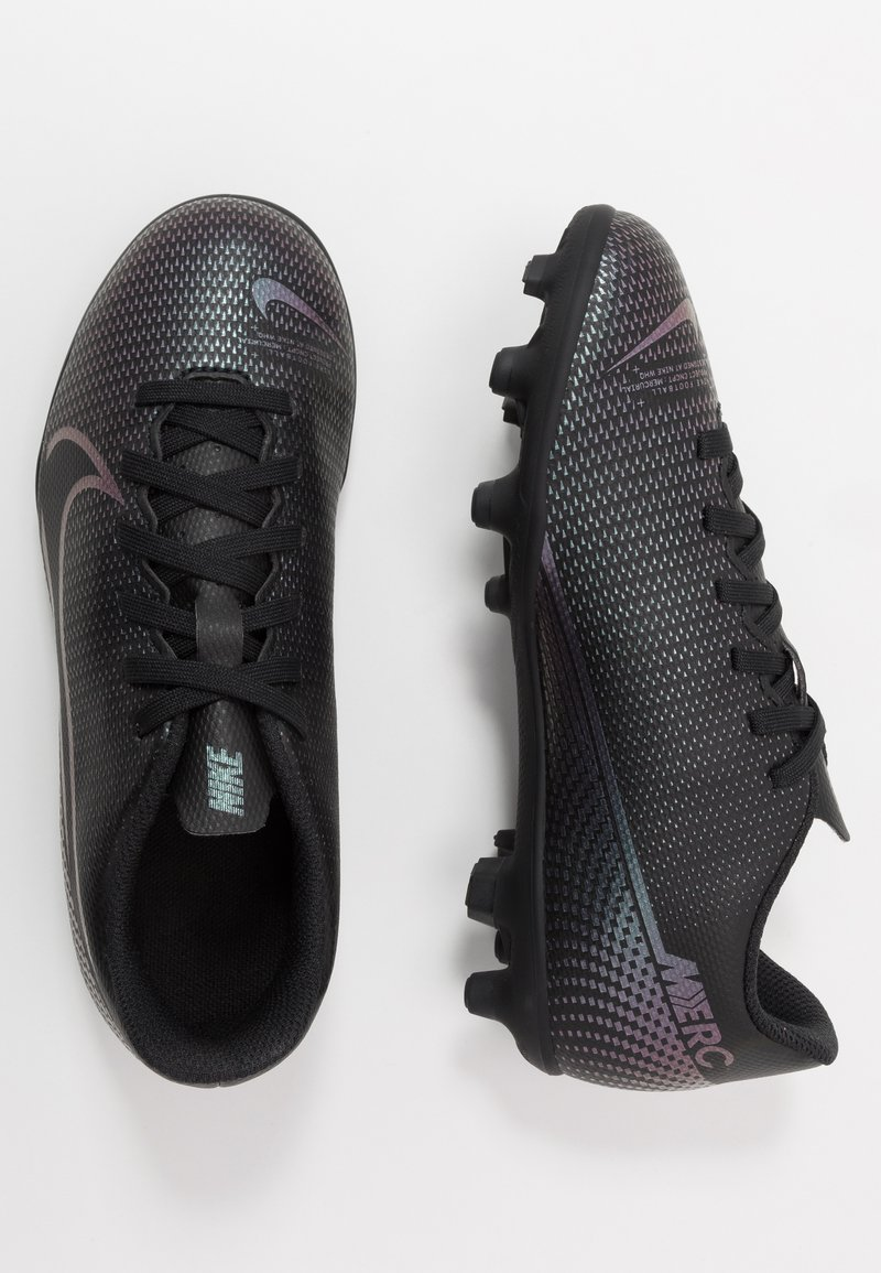 Nike Performance - MERCURIAL JR VAPOR 13 CLUB FG/MG UNISEX - Korki Lanki - black
