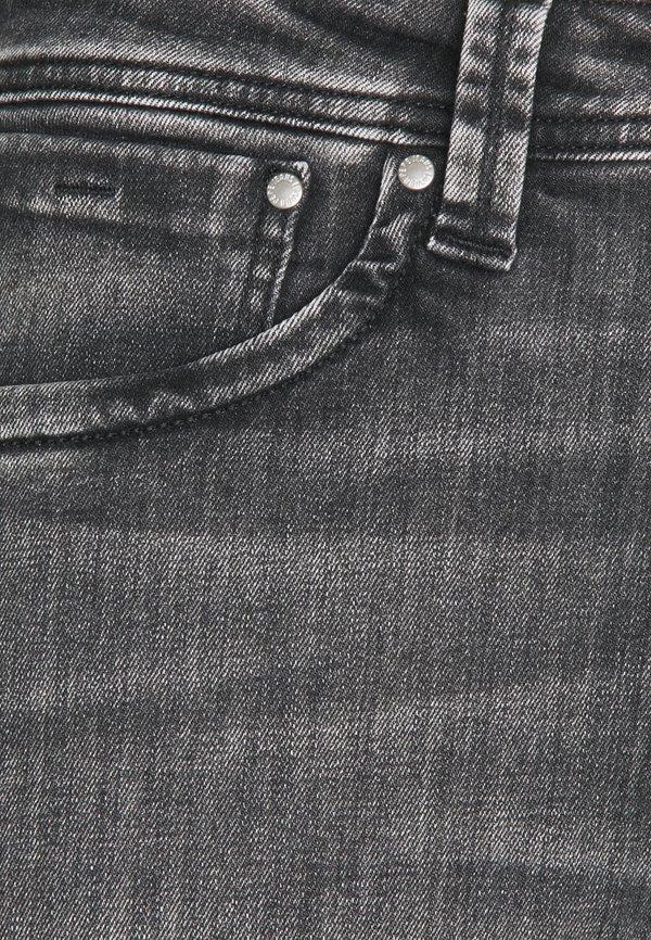 Pepe Jeans KINGSTON ZIP - Jeansy Straight Leg - black denim/czarny denim Odzież Męska DPVF