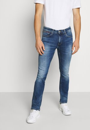 SCANTON - Jeansy Slim Fit - queens mid blue