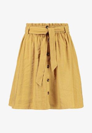 NETHE - A-line skirt - dijon