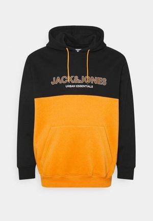 Felpa con cappuccio - golden orange