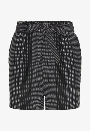 ONLNEW ATHENA - Shorts - black/white