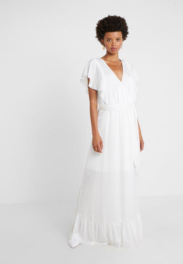 ELDA LONG DRESS - Długa sukienka - cream