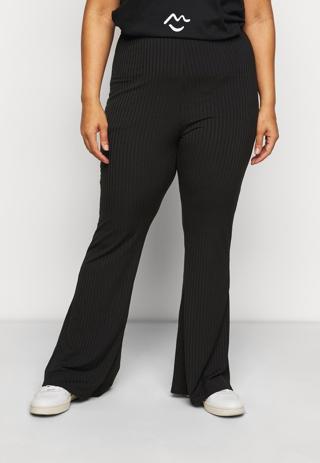 FLARE LEGGING - Pantalon classique - black