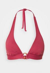 s.Oliver - TRIANGLE - Bikiniöverdel - rust red - 0