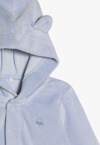 Benetton - JACKET HOOD - Hoodie met rits - light blue - 4